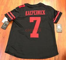 0fa3cecc0 New Nike  150 49ers 7 Colin Kaepernick Jersey Sz L Women s NFL Stitched  893120
