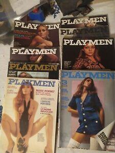 Lotto 8 Playmen Anni 70