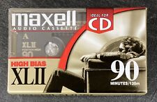 Lot (10) Brand New Sealed Maxell XLII 90  Cassettes Tapes Type II High Bias