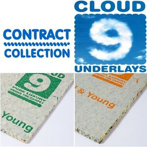Cloud 9 carpet underlay Super Contract 10mm and Contract 8mm Heavy wear & stairs