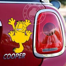 "Cute Garfield Cat Car Rear Decal Sticker Motorcycle Motors New 7""x4.7"""