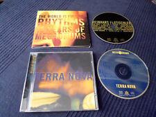 2CD Megadrums The World Is Full Of Rhythms & Terra Nova Zakir Hussain Puschnig