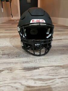 Riddell SPEED FLEX Football Helmet R61195 ADULT LARGE (Matte Black)