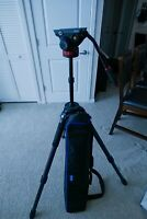 Benro C474T Carbon Fiber with Manfrotto 502 Video Head MVH502AH Combo!