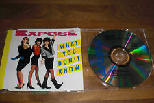 Expose - What You Don´t Know Maxi CD