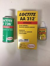 Loctite Windshield/ Auto Glass Rearview Mirror Adhesive-and Primer -3325  24 ml