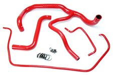 HPS Red Silicone Radiator Hose Kit Coolant OEM Replacement 57-1594R-RED