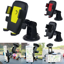 360°Rotating Car Holder Windscreen Suction Cup Mount Mobile Phone Holder Stand