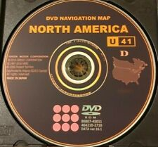 New 2017 Gen 5 Toyota Lexus Navigation Map Update DVD Ver 16.1 U41 East AND West