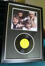 "ABBA - MAMA MIA - ORIGINAL UK DJ DEMO 7"" SINGLE - FRAMED"