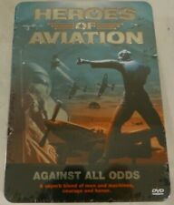 Heroes of Aviation Against All Odds DVD 5-Disc Set w/ Collectors Tin - Sealed