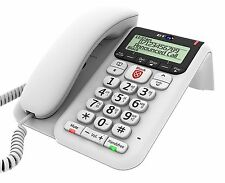 BT Decor 2600 Advanced Call Blocker Corded Telephone - White - New Uk seller