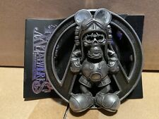 David Flores x HellFire CC DeathsHead Belt Buckle FOURSPEED House of Pain Signed