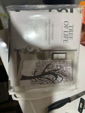 Carnation Home Fashions Tree of Life Fabric Shower Curtain FSC13-TL Curtain NEW