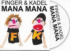 FINGER & KADEL - Mana Mana CD SINGLE 5TR House Electro 2007 Holland