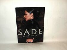 SADE  SOLDIER OF LOVE WORLD TOUR 2011 CONCERT PROGRAM BOOK