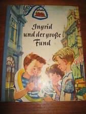 (e353) antiguo libro infantil u. ingrid de la Grosse Fund herbert george/Günter hain 1968