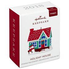 2018 Hallmark Holiday House Magic Miniature Ornament with Lights