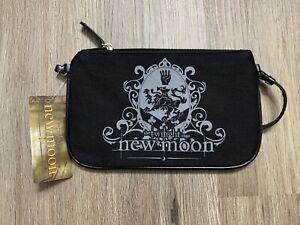 Twilight Saga New Moon Vampires Small Purse Black Bag New NECA