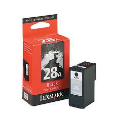 Genuine Lexmark 28 Black Ink 18C1428 For X5340 X5410 X5495 Z1300 Z1310 Z1320