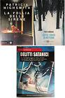 Lotto 3 libri VARGAS Sotto i venti di nettuno +HIGHSMITH La follia delle sirene