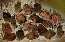 Mig Productions 1/35 Burnt Out U.S. Jerrycans (18 pieces - 6 types) 35-371