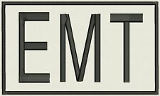 "Large EMT Custom Embroidered tag, badge, Patch - Customize it! 8""x4.75"""