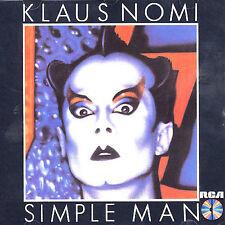 Klaus Nomi - Simple Man ( AUDIO CD in JEWEL CASE )