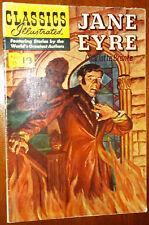 CLASSICS ILLUSTRATED #35 Jane Eyre (1951>) British/Australian edition HRN 129