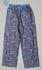 CALVIN KLEIN NWT Girls Pajamas PJ Sleep Pants Lounge Blue Navy Orange Grey 7 8
