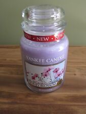 "YANKEE CANDLE, 22 OZ  ""HONEY BLOSSOM"" , NEW"