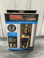 Magic Mesh Deluxe Hands-Free Screen Door Magnets KEEP BUGS OUT As Seen on TV New