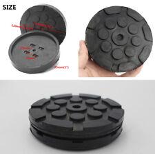 Qualität 4 Pcs 120MM Black Heavy Duty Runde Gummi Arm Pads für Auto-Lift-Zubehör