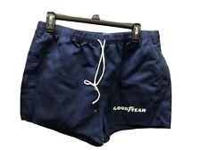 Vintage Velva Sheen GoodYear Athletic Running Gym Shorts Size Xl Cotton Blend