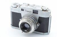 *Rare* TARON 35 VINTAGE 35mm RANGEFINDER CAMERA LAUSAR 4.5cm F2.8 5729