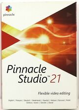 Pinnacle Studio 21 Standard Flexible Video Editing Software Windows PC