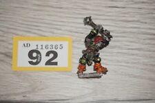 Warhammer Citadel Chaos Champion Stro´knor Macekiller Metal - LOT 92