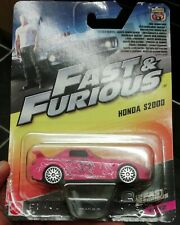 Fast furious MATTEL HONDA S2000 pink JDM 1:55  NOT hot wheels