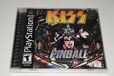 KISS Pinball Sony Playstation PS1 Video Game New Sealed