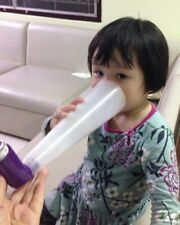 amazing cone spacer equipment for baby kid inhale use with evohaler/ inhaler