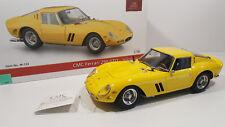 CMC m-153 FERRARI 250 GTO YELLOW 1962, esclusivo modello sottili, 1:18, come nuovo OVP