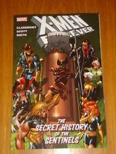 X-MEN FOREVER SECRET HISTORY OF SENTINELS MARVEL GRAPHIC NOVEL < 9780785136804