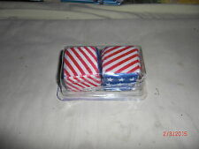 Vtg Style 30s 40s 50s 60s 70s AMERICAN FLAG Mirror Dice Bomb Hot Rat Rod 50s NOS
