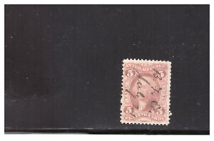 US SC. R28c .05 CENT PLAYING CARD STAMP USED  CAT. $40.00 #2 PG33
