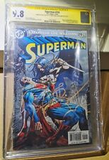 SUPERMAN #210 DC Comics CGC 9.8 Signed by Gal Gadot and Henry Cavill