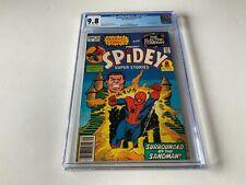 SPIDEY SUPER STORIES 26 CGC 9.8 AMAZING SPIDER-MAN SANDMAN MARVEL COMICS 1977