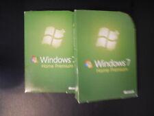 Microsoft Windows 7 Home Premium 32 & 64 Bit w/ Keycode Retail Full Version