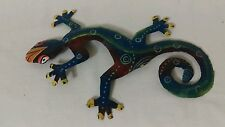 Decorative Gecko Lizard Reptile Tin 3D Wall Hanging Jungle Rainforest