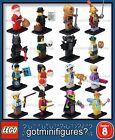 LEGO® SERIES 8 -8833 - COMPLETE SET - minifigures (x16) rare minifigs BRAND NEW!