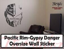 Pacific Rim Gypsy Danger Custom Wall Vinyl Sticker